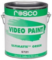 Rosco Video Paint Ultimate Green 3.79 Liter