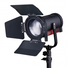SWIT FL-C60D 60W LED Spotlight, 25000lux, V-Mount, DMX