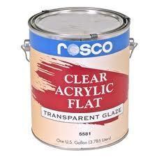 Rosco Clear Flat Acryl 3.79 Liter