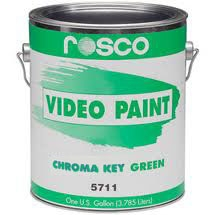 Rosco Video Paint ChromaKey Green 3.79 Liter