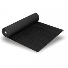 Gummi-Feinriefenmatte schwarz, 3 mm stark 1200 mm breit, 10 Meter Rolle