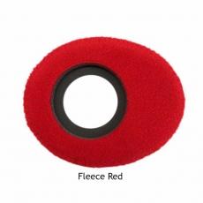 BlueStar Augenleder Fleece rot, large