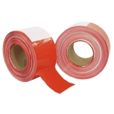 Absperrband rot/weiß 500 Meter