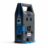 Blueshape CVTR2P Reiseladegerät für V-Lock Akkus, 2 parallele Ladeplätze