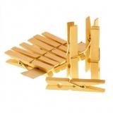 Holz-Wäscheklammern (10 Stück)