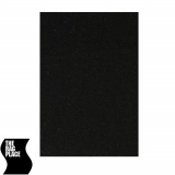 The Rag Place 08 x 08 Solid Black