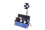 ARRILITE 750 Plus, 3er Licht Kit - mit Rollen (Schuko)