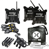 EXALUX CONNECT-TX100 + 2 x RX100 Kit
