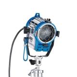 ARRI 300 Plus MAN, blau/silber, 90 - 250 V AC, Schuko-Stecker
